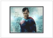 Henry Cavill Autograph Signed Photo - Superman